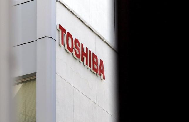 The logo of Toshiba Corp is seen at a building in Tokyo in this September 30, 2015 file photo. REUTERS/Toru Hanai/Files