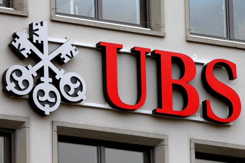 The Company S Logo Is Seen At A Branch Of Swiss Bank Ubs In Zurich Switzerland