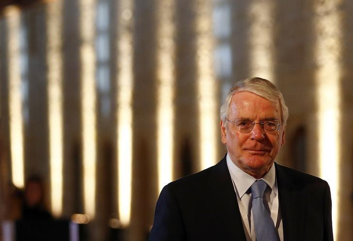 Former British Prime Minister John Major arrives for the opening ceremony of the Commonwealth Heads of Government Meeting (CHOGM) in Valletta, Malta November 27, 2015. REUTERS/Andrew Winning