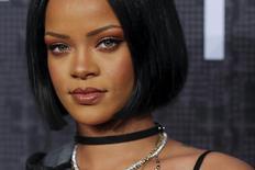 Rihanna em Fashion Week de Nova York. 12/2/2016. REUTERS/Eduardo Munoz