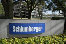 The exterior of a Schlumberger Corporation building is pictured in West Houston, in this January 16, 2015 file photo.  REUTERS/Richard Carson/Files
