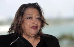 Arquiteta anglo-iraquiana Zaha Hadid.    05/12/2014     REUTERS/Andrew Innerarity/Files/Files