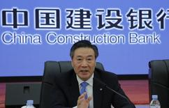 Wang Zuji, président de China Construction Bank. Etre le patron d'une banque publique chinoise, c'est-à-dire l'un des plus puissants établissements financiers du monde, n'a rien de particulièrement gratifiant. L'an passé, l'Etat a réduit de moitié la rémunération des patrons des banques publiques dans le cadre d'une cure d'austérité généralisée. /Photo prise le 31 mars 2016/REUTERS/Kim Kyung-Hoon