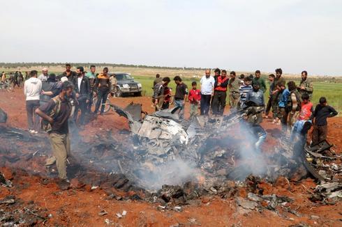 Syrian warplane shot down