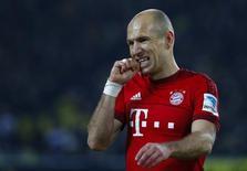 Ponta-direita do Bayern de Munique Arjen Robben.    05/03/2016       REUTERS/Kai Pfaffenbach