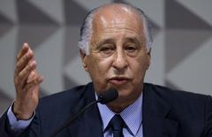 Del Nero fala em CPI do Futebol no Senado. 16/12/2015. REUTERS/Ueslei Marcelino