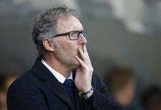 Técnico do PSG Laurent Blanc .    12/04/2016 Reuters / Darren Staples Livepic