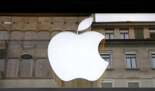 The logo of U.S. technology company Apple is seen in Zurich, Switzerland April 5, 2016. REUTERS/Arnd Wiegmann