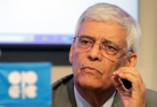 OPEC Secretary-General Abdullah El-Badri attends a news conference after the EU-OPEC Energy Dialog in Vienna June 27, 2011.  REUTERS/Herwig Prammer