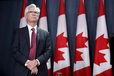 Canada's Natural Resources Minister Jim Carr takes part in a news conference in Ottawa, Canada, January 27, 2016. REUTERS/Chris Wattie