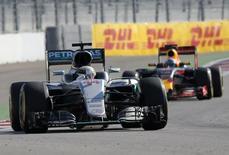 Formula One - Russian Grand Prix - Sochi, Russia - 1/5/16 - Mercedes F1 driver Nico Rosberg of Germany drives during the Russian Grand Prix.   REUTERS/Maxim Shemetov
