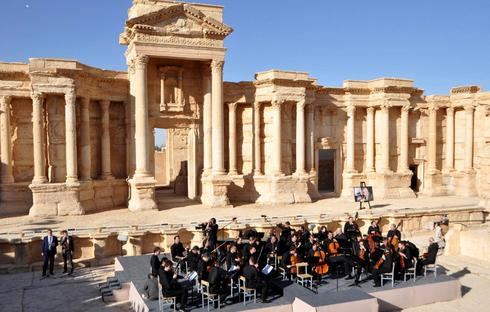 Music in the ruins of Palmyra