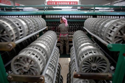Fruit of North Korea's looms
