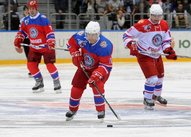 Putin Prevails In Sochi All Star Ice Hockey Game Reuters Com