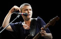 Sinead O'Connor se apresenta em festival de Salacgriva.  18/7/2009. REUTERS/Ints Kalnins