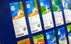 Apresentados ingressos dos Jogos Olímpicos do Rio. 20/05/2016. REUTERS/Ricardo Moraes