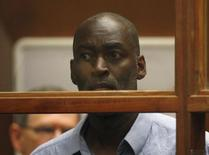 Actor Michael Jace appears at an arraignment hearing for a murder charge in Los Angeles Superior Court in Los Angeles, May 22, 2014. REUTERS/ David McNew/Pool
