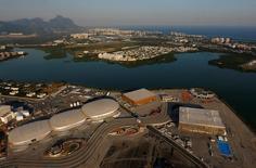 Vista aérea do Parque Olímpico, no Rio de Janeiro.  25/4/2016.  REUTERS/Ricardo Moraes