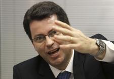 Paulo Caffarelli, indicado para asssumir o comando do Banco do Brasil, durante entrevista em São Paulo 23/05/ 2013. REUTERS/Nacho Doce