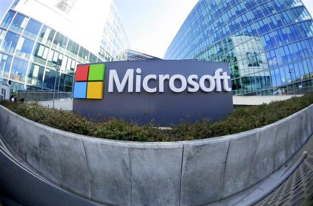 General view of Microsoft Corporation headquarters at Issy-les-Moulineaux, near Paris,  France, April 18, 2016. REUTERS/Charles Platiau/Files