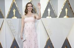 Presenter Emily Blunt arrives at the 88th Academy Awards in Hollywood, California February 28, 2016.  REUTERS/Lucy Nicholson