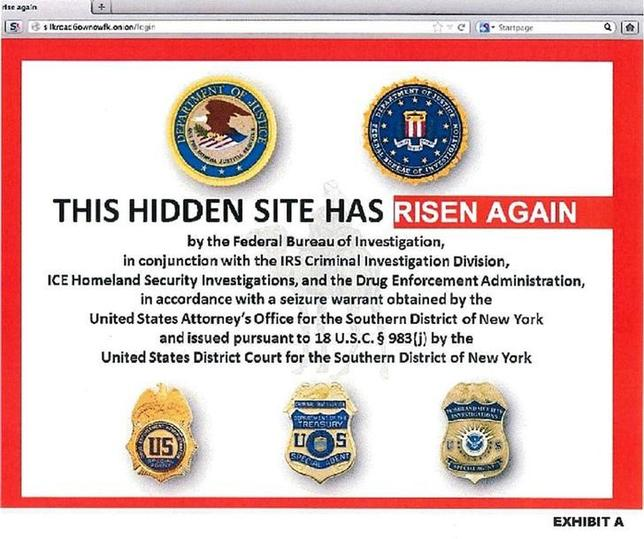 The alleged homepage to Silk Road 2.0, the successor website to Silk Road, is seen in a screenshot labelled Exhibit A from a U.S. Department of Justice (DOJ) criminal complaint filed against Blake Benthall November 6, 2014.  REUTERS/DOJ/Handout via Reuters