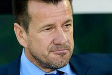 Jun 4, 2016; Pasadena, CA, USA; Brazil manager Dunga looks on before a game against Ecuador during the group play stage of the 2016 Copa America Centenario at Rose Bowl Stadium. Mandatory Credit: Kelvin Kuo-USA TODAY Sports