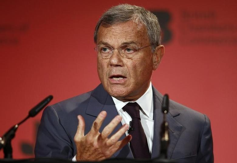 WPP founder and CEO Martin Sorrell, speaks at the British chambers of Commerce annual conference in London Britain, March 3, 2016.  REUTERS/Peter Nicholls/File photo