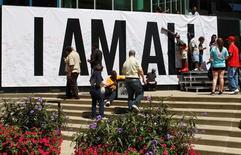 Homenagem a Muhammad Ali em Louisville.  8/6/2016.  REUTERS/John Sommers II