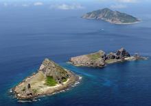 Vistal geral do território contestado das ilhas conhecidas como Senkaku, no Japão, e Diayou, na China..     09/2012     REUTERS/Kyodo/File Photo