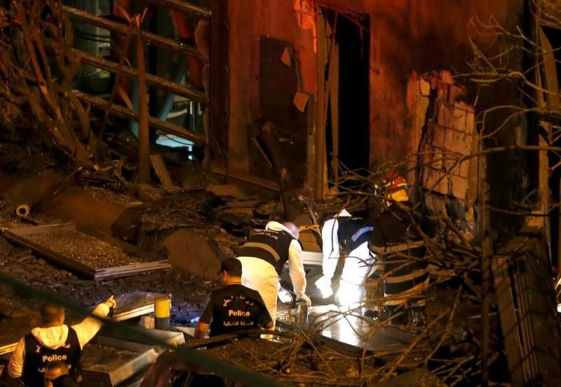 Bomb blast in central Beirut aimed at bank: minister - Reuters