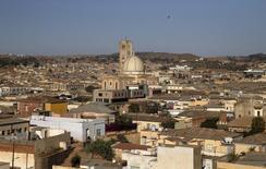 Kidane Mihret church is seen in Eritrea's capital Asmara, February 19, 2016.  REUTERS/Thomas Mukoya