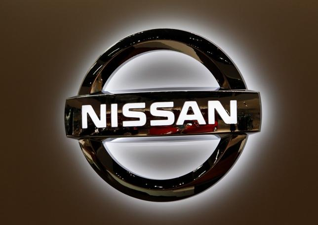 A Nissan Motor logo is seen at the company's global headquarters in Yokohama, south of Tokyo April 7, 2010. REUTERS/Issei Kato