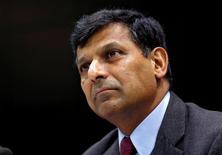 L'Inde se cherche un nouveau gouverneur de sa banque centrale après la décision surprise de Raghuram Rajan, en poste depuis seulement trois ans, de ne pas solliciter de nouveau mandat. /Photo prise le 7 juin 2016/REUTERS/Danish Siddiqui