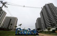 Vista da Vila Olímpica durante apresentação à mídia no Rio de Janeiro. 23/6/2016. REUTERS/Sergio Moraes