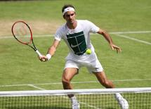 Britain Tennis - Wimbledon Preview - All England Lawn Tennis & Croquet Club, Wimbledon, England - 26/6/16 Switzerland's Roger Federer during practice Reuters / Paul Childs Livepic