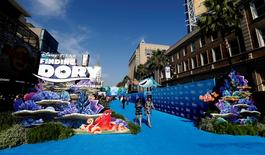 """A general view at the premiere of """"Finding Dory"""" at El Capitan theatre in Hollywood, California U.S., June 8, 2016. REUTERS/Mario Anzuoni"""