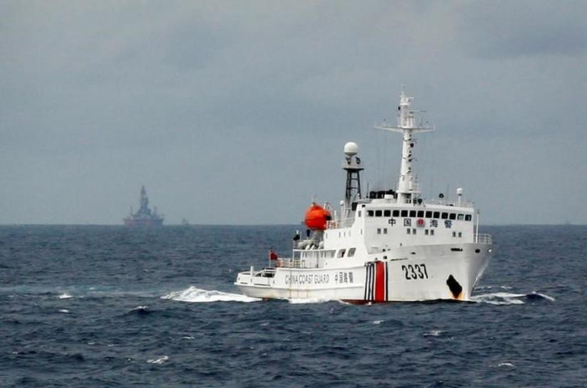 China says wants peace after paper warns on South China Sea clash