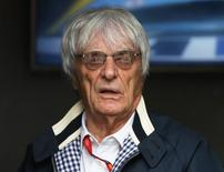 Britain Formula One - F1 - British Grand Prix 2016 - Silverstone, England - 10/7/16 President and CEO of Formula One Management Bernie Ecclestone before the race REUTERS/Matthew Childs Livepic