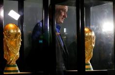 Técnico da seleção brasileira, Tite, durante visita ao museu da CBF, no Rio de Janeiro.    20/06/2016       REUTERS/Sergio Moraes