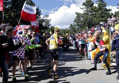 Running the Tour de France