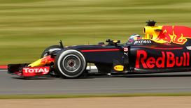 Britain Formula One - F1 - British Grand Prix 2016 - Silverstone, England - 8/7/16 Daniel Ricciardo of Red Bull during practice Action Images via Reuters / Andrew Boyers Livepic