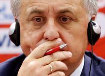 Ministro dos Esportes da Rússia, Vitaly Mutko.      05/07/2016        REUTERS/Sergei Karpukhin