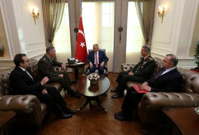 U.S. general seeks to soothe Turkey ties strained by coup purge
