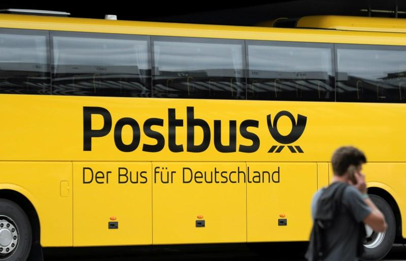 deutsche post dhl sells long distance bus unit reuters. Black Bedroom Furniture Sets. Home Design Ideas