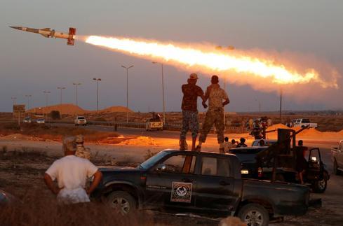 Fighting Islamic State in Libya