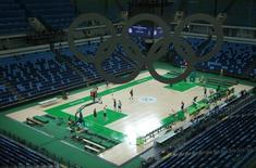Arena de basquete dos Jogos Rio 2016. 04/08/2016 REUTERS/Jim Young