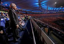 Brazil interim President Michel Temer opens the 2016 Summer Olympics during the opening ceremony in Rio de Janeiro, Brazil, Friday, Aug. 5, 2016. REUTERS/Mark Humphrey/Pool