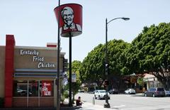 A KFC fast food restaurant, which is owned by Yum Brands Inc, is pictured ahead of their company results in Pasadena, California, U.S., July 11, 2016. REUTERS/Mario Anzuoni