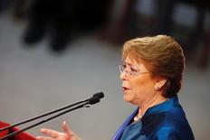 Presidente do Chile, Michelle Bachelet.        21/05/2016         REUTERS/Rodrigo Garrido